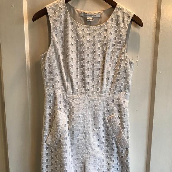 Diane Von Furstenberg Dresses & Skirts - Diane Von Furstenberg Eyelet Lace Dress sz 4